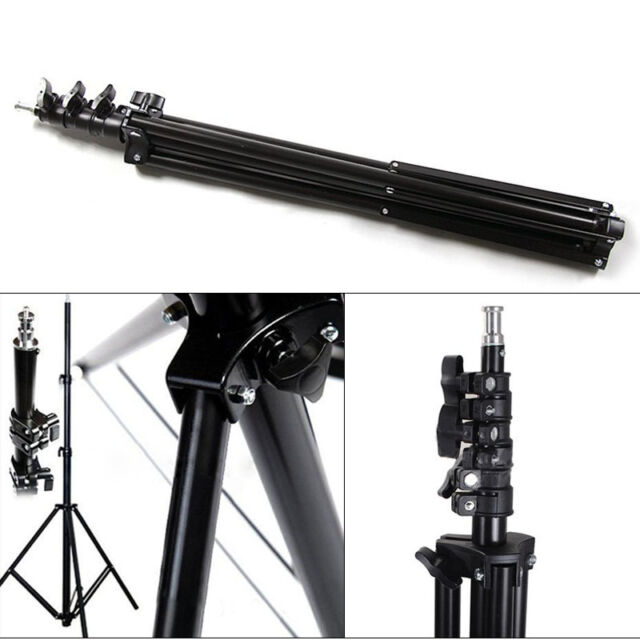7.8ft Flash Light Stand Tripod for Photo Studio Video Lighting KitSet 240cm 2.4m