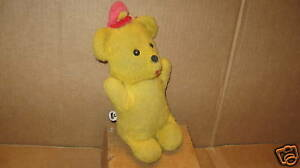 Vintage Teddy Bear Vintage Stuffed Animal Music Box Ebay