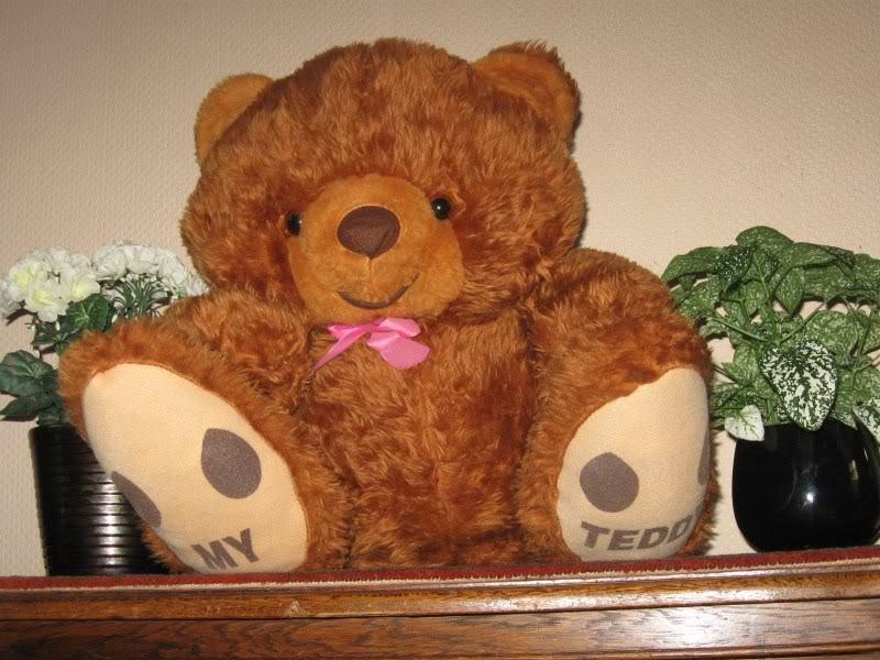 Vintage 1980s ITALY Huge Bear My Teddy