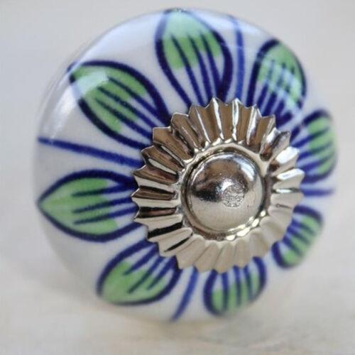 Céramique-meubles Pommeaux Poignée Poignée Blanc-Coloré 57-n Meubles Bouton Meubles Poignée meubles Boutons