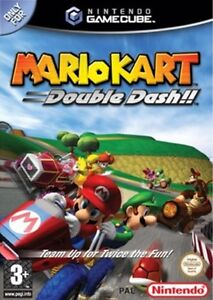 Details About Mario Kart Double Dash Gamecube Game Pal