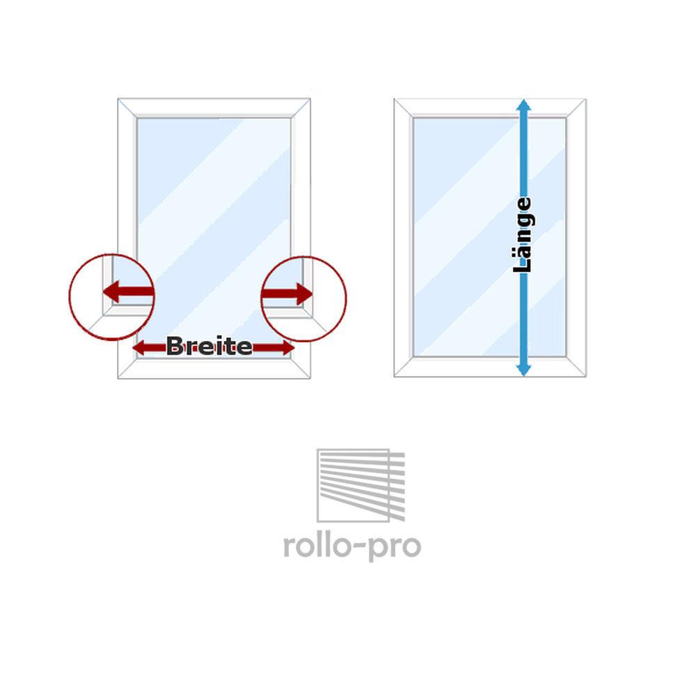 Plissee Faltrollo ohne Bohren Plisee nach Maß  METALLICO METALLICO METALLICO  Profil Elfenbein NEU  | Kostengünstig  615d01