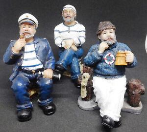 Vintage-Sailor-Figurines-Blue-and-White-3-Piece