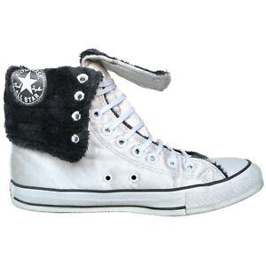 Converse-EU-39-5-UK-6-5-Chucks-XHI-Weiss-Silber-Edition-Chuck-Taylor-All-Star-HI