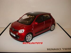 norev renault twingo 3 rouge flamme 2014 au 1 43 ebay. Black Bedroom Furniture Sets. Home Design Ideas