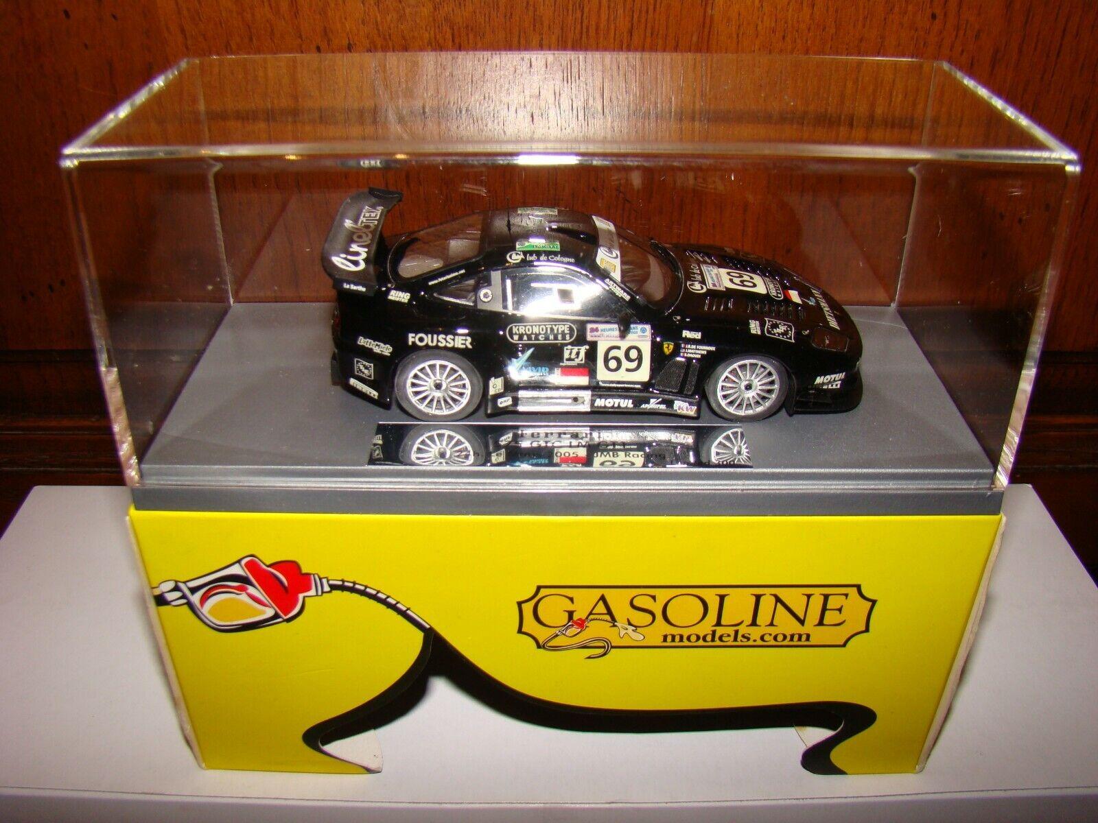 FERRARI 575 GTC LE MANS 2005 JMB RACING    BBR GAZOLINE 1 43EME LIMITED SUPERBE