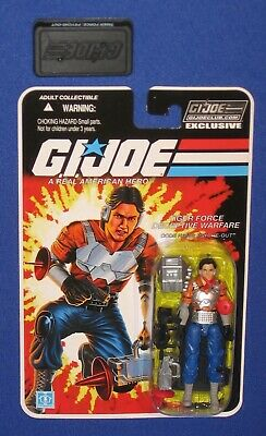 2019 GI JOE CLUB EXCLUSIVE PSYCHE-OUT TIGER FORCE FINAL 12 FSS CARDED