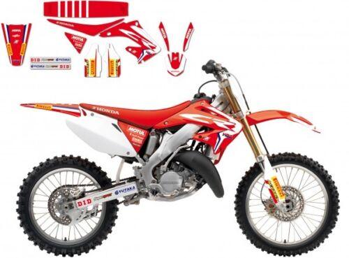 Fits Honda CR250R 2002 2003 2004 2005 2006 2007 Sticker Kit Graphics//Seat Cover