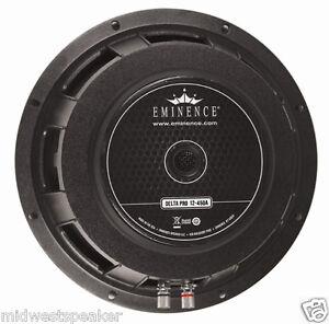 eminence delta pro 12 450 4 12 woofer 450 watts 4 ohms free shipping. Black Bedroom Furniture Sets. Home Design Ideas