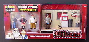 Bikers-30-Micro-Icons-Mega-Pk-039-s-about-1-32-scale-Biker-figures-wholesale-lot