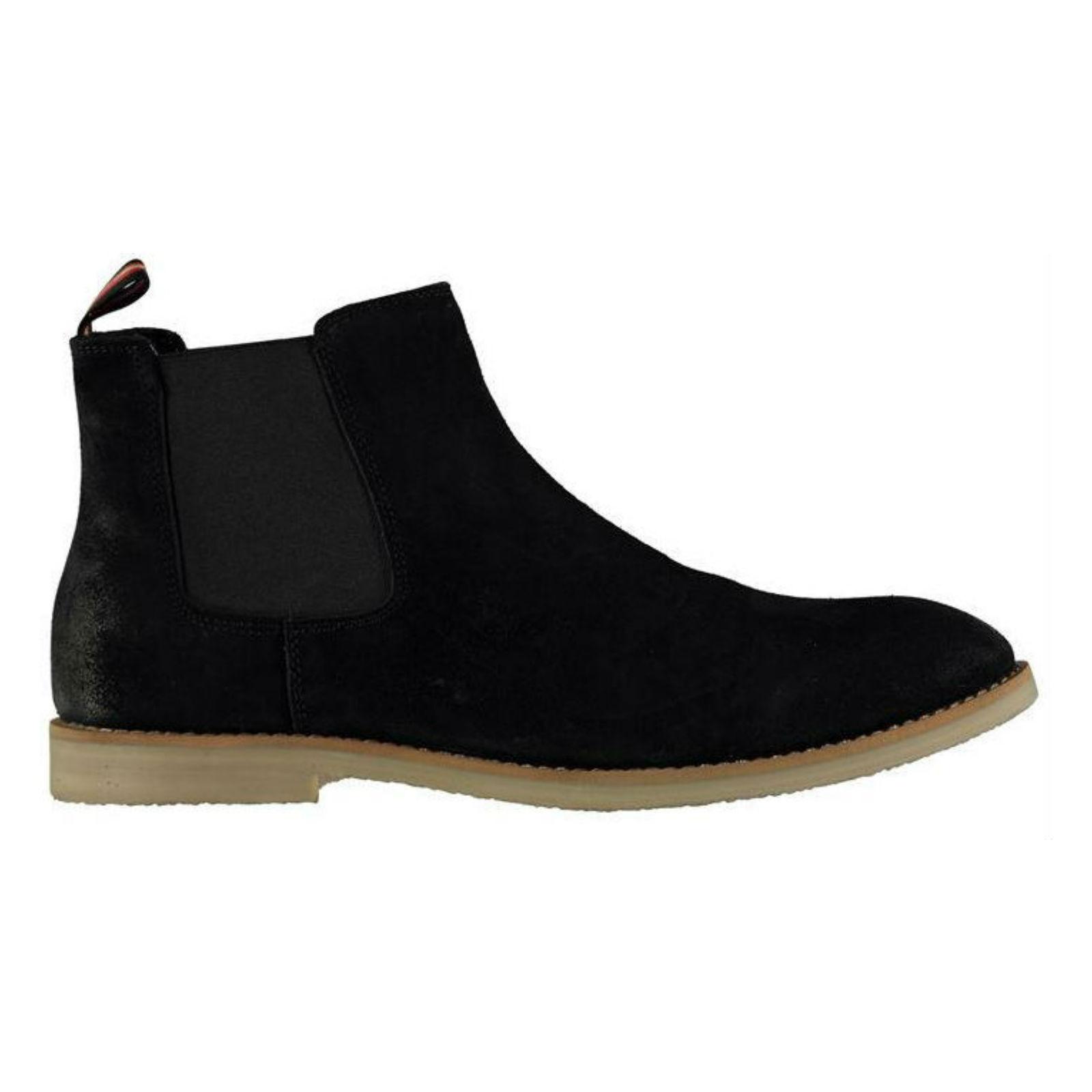 CASUAL Herren LUKE  SUEDE LEATHER DESERT ANKLE Stiefel CASUAL  CHELSEA WALKING CHUKKA Schuhe a7bacc