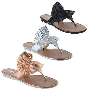 0902755c2ff LADIES WOMENS NEW SLIP ON SUMMER FLAT FLIP FLOP FRILL THONG SANDALS ...