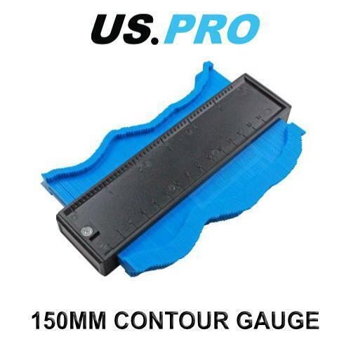 US PRO Tools 150mm Contour Profile Measuring Gauge Plastic Modelling NEW 2761