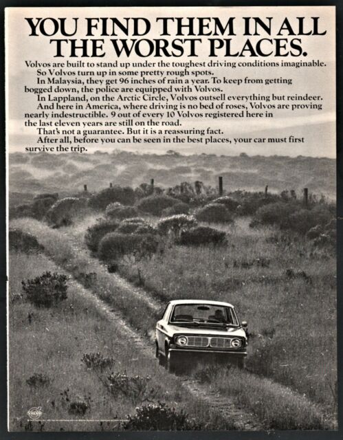 1970 VOLVO AD You find them in all the worst places