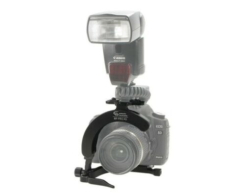 Arca-Swiss Custom Brackets rf-Pro como Rapid Fire Rotación Soporte Flash De Cámara