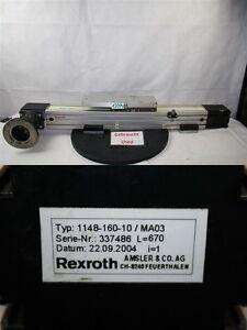 REXROTH 1148-160-10/MA03 Scooter Rail