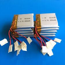 10 pcs 3.7V 450mAh Li Po polymer 503030 battery for MP3 Smart Watch MP4 Speaker