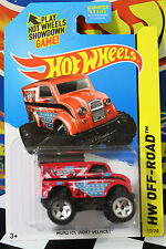 Hot Wheels 1:64 Scale 2014 HW Off-Road Monster Dairy Delivery RED