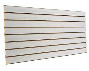Black Slatwall Panels 24H x 48L Set of 2 Panels