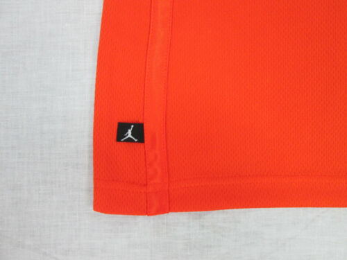 6 7 NWT Nike Boys Air 23 Jordan Sleeveless Basketball Tank Shirt Orange Sizes