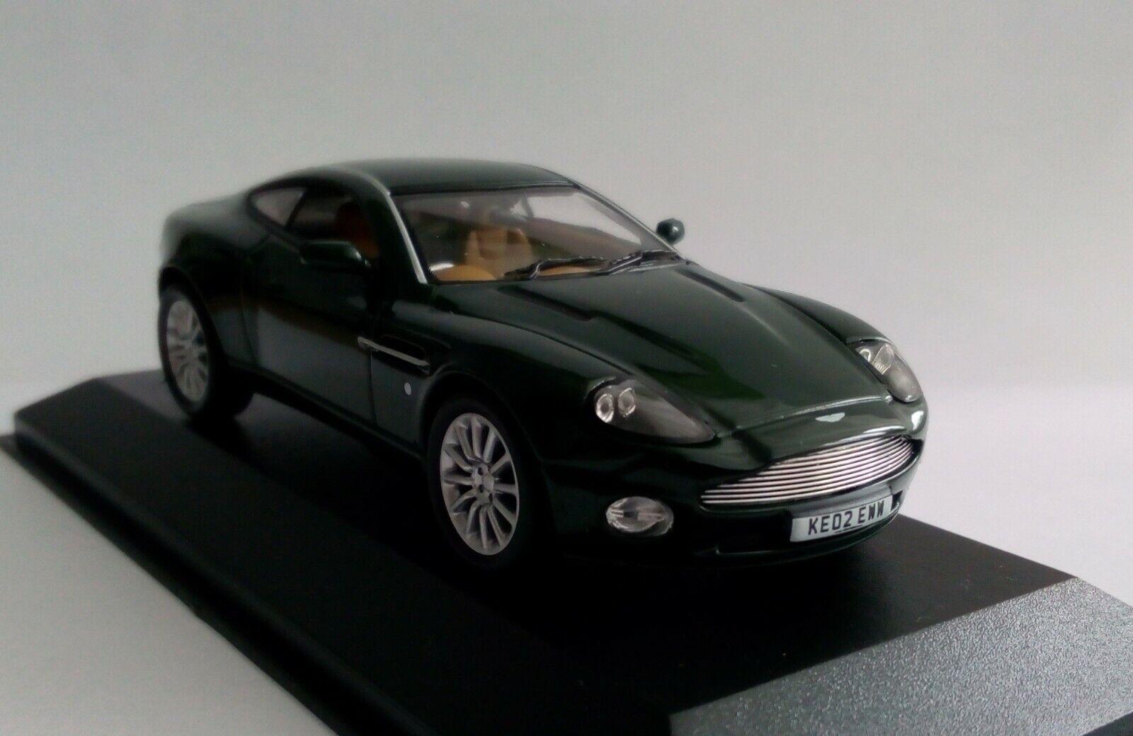 con 60% de descuento Raro Minichamps 400 137222 1 43 43 43 Aston Martin V12 Vanquish verde  alta calidad general