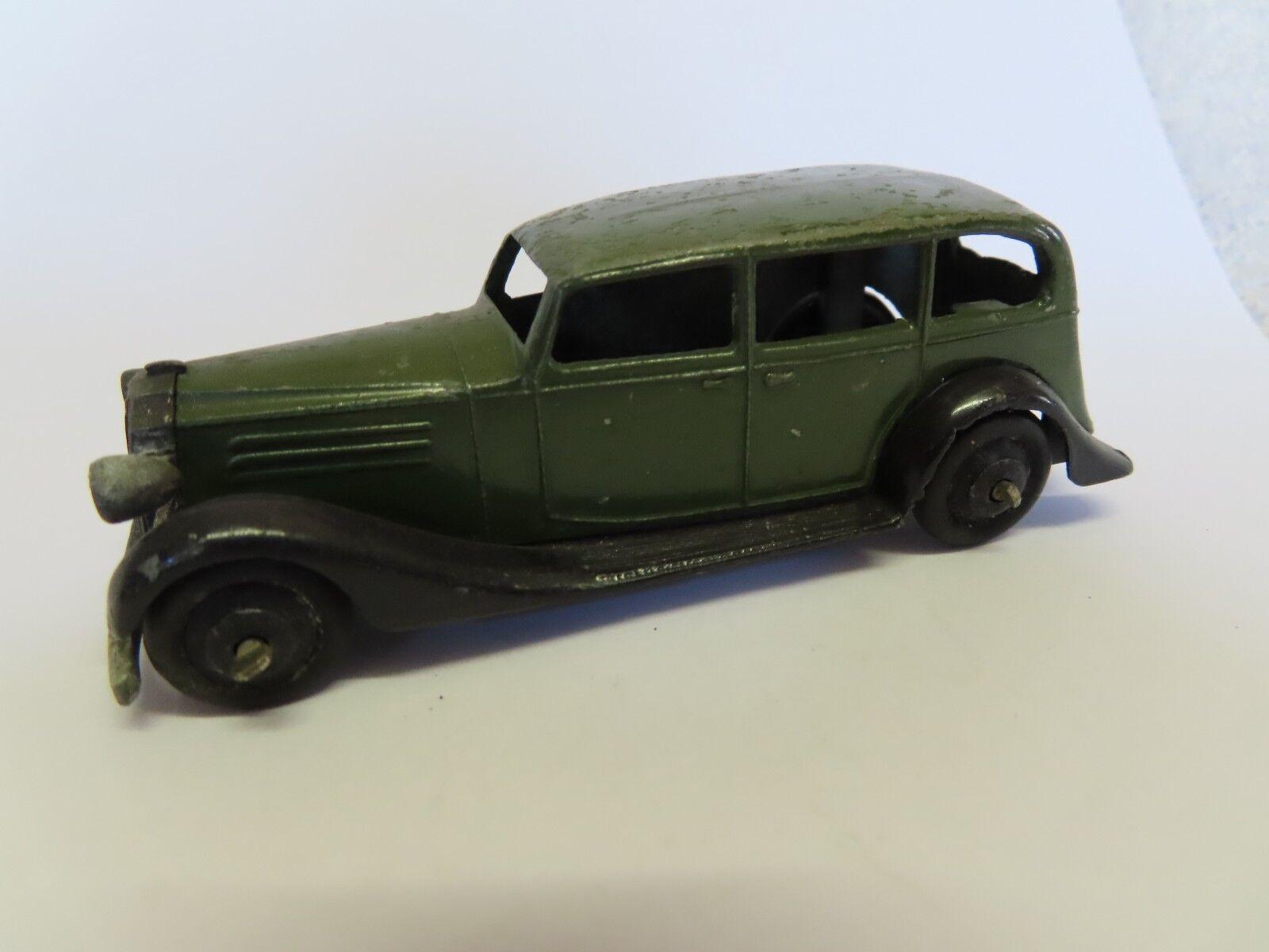 Dinky Juguetes 1930s Opel Saloon en muy buen estado