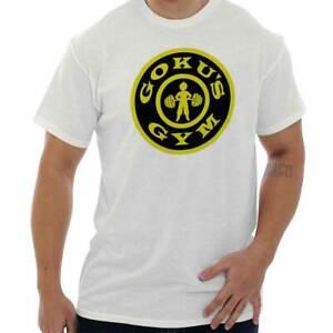 Goku-Gym-Exercise-Workout-TV-Show-Anime-Geek-Short-Sleeve-T-Shirt-Tees-Tshirts