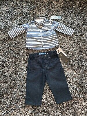 Guess Baby Boys Shirt & Jeans Set