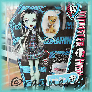 New  Monster High Frankie Stein Doll  Pet amp Diary Classic Original Costume - New ★ Monster High Doll, United Kingdom - Your Right To Return/Cancel Your Order under Distance Selling Regulations - 14 Day 'Cooling Off Period' . For most items, you have the legal right to cancel your order within 14 working days of receipt if you ch - New ★ Monster High Doll, United Kingdom