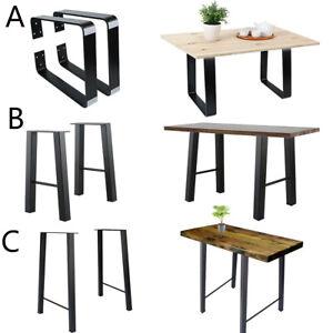 Three-Model-vintage-styles-16-034-28-Metal-Bar-Coffee-Table-Desk-Legs-DIY-Furniture