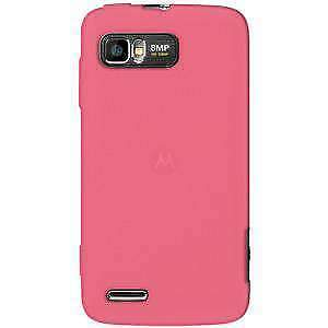 AMZER-Silicone-Soft-Skin-Jelly-Case-Cover-For-Motorola-ATRIX-2-MB865-Baby-Pink