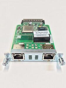 VWIC3-2MFT-T1-E1-Cisco-2-Port-T1-E1-Multiflex-Trunk-Voice-WAN-Interface-Card