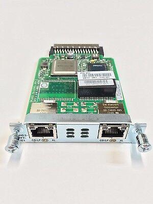Cisco VWIC3-2MFT-T1//E1 2 Port Trunk Voice WAN Interface card 2 yr warranty Real