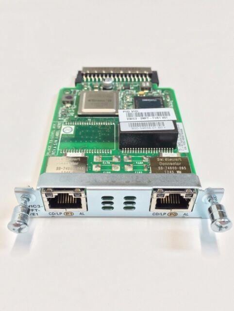 VWIC 3-2MFT-T1/E1 - Cisco 2-Port T1/E1 Multiflex Trunk VOICE/WAN Interface Card
