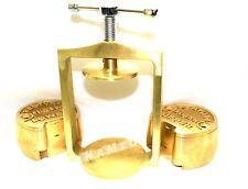Premium Dental Laboratory Lab Spring Press Compress Withtwo Brass Denture Flask