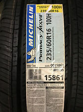 4 New 235 60 16 Michelin Primacy MXV4 Tires