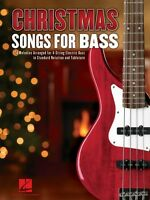Christmas Songs For Bass Sheet Music 24 Melodies Arranged For 4-string 000700182