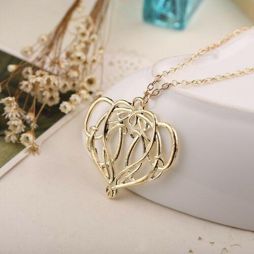 The Hobbit Necklace The Elves Elrond King Gold Colour Pendant Necklace