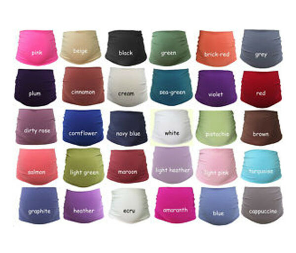 **new** Maternity Belly Band, Pregnancy Support, Pregnancy Band, **30 Colours**