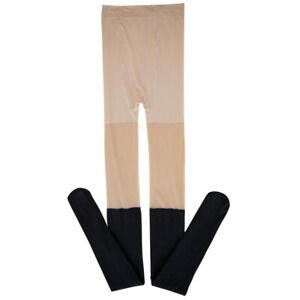 Women-Thin-Sheer-Splice-Sexy-Pantyhose-Socks-Stockings-Highs-Elastic-Tights