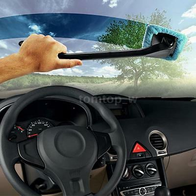Microfiber Auto Window Cleaner Windshield Brush Handy Washable Cleaning Tool PW1