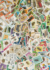 Collection 100 diff. stamps - Insecten / Insects  (Y1008)