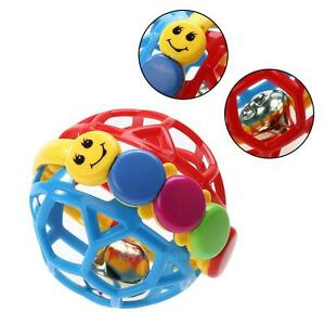 Baby-Colorful-Toddlers-Soft-Bendy-Ball-Fun-Educational-Play-Rattle-Activity-Toys