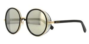 4db6983817c Jimmy Choo ANDIE S black rose gold grey mirror (J7Q M3) Sunglasses ...