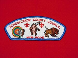 VINTAGE-BSA-BOY-SCOUTS-OF-AMERICA-PATCH-SCHENECTADY-COUNTY-COUNCIL-NEW-YORK