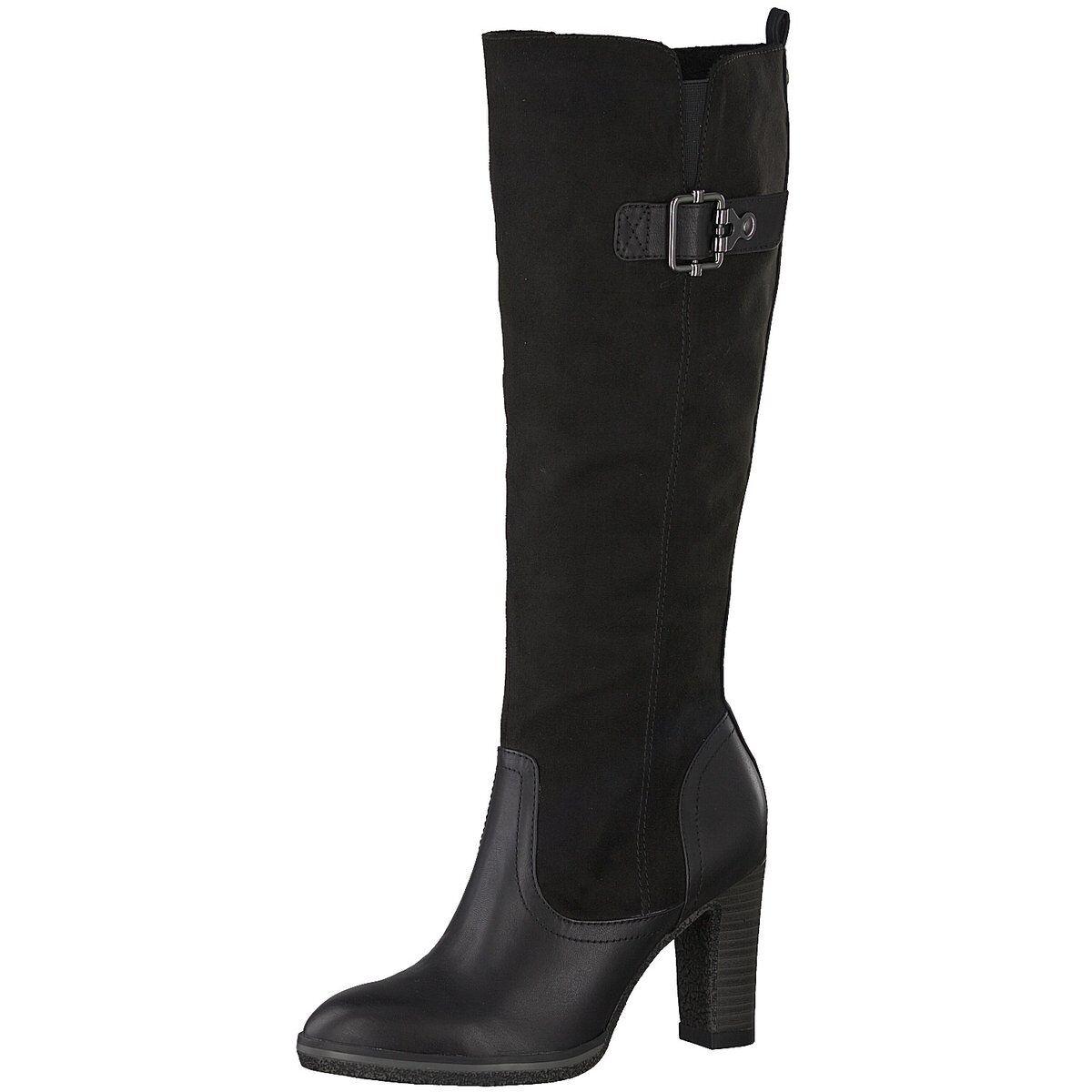 S.Oliver Damen Stiefel Stiefel 5-25507 5-5-25507-21 001 schwarz 522491