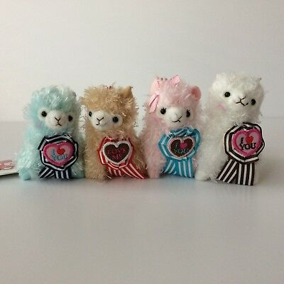 Amuse Heartful Alpacasso X1 Valentine's Day Arpakasso Alpaca Plush Japan 8cm