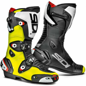 Sidi-Mag-1-Moto-Motorcycle-Bike-Boots-Fluo-Yellow-Black