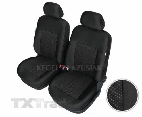Sitzbezüge Vorne OPEL  Insignia  Schonbezüge POSEIDON SCHWARZ XL