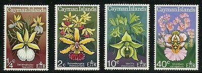 Europa Qualifiziert Album Schätze Kaimaninseln Scott #287-290 Wild Orchideen Neuwertig Nh Großbritannien Kolonien
